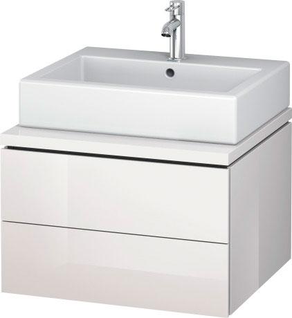 Vero air wastafel meubelwastafel 235050 duravit - Wastafel console ...