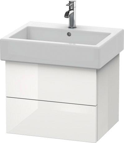 Vero wastafel meubelwastafel 045460 duravit - Wastafel console ...
