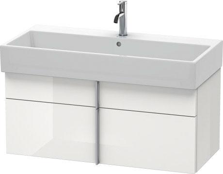 Vero air wastafel meubelwastafel 235010 duravit - Wastafel console ...
