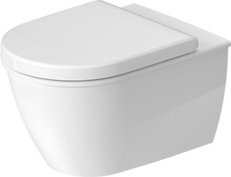 darling new wandwc compact duravit rimless 255709 duravit. Black Bedroom Furniture Sets. Home Design Ideas