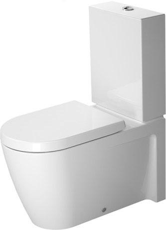 starck 2 staand toilet 212909 duravit. Black Bedroom Furniture Sets. Home Design Ideas