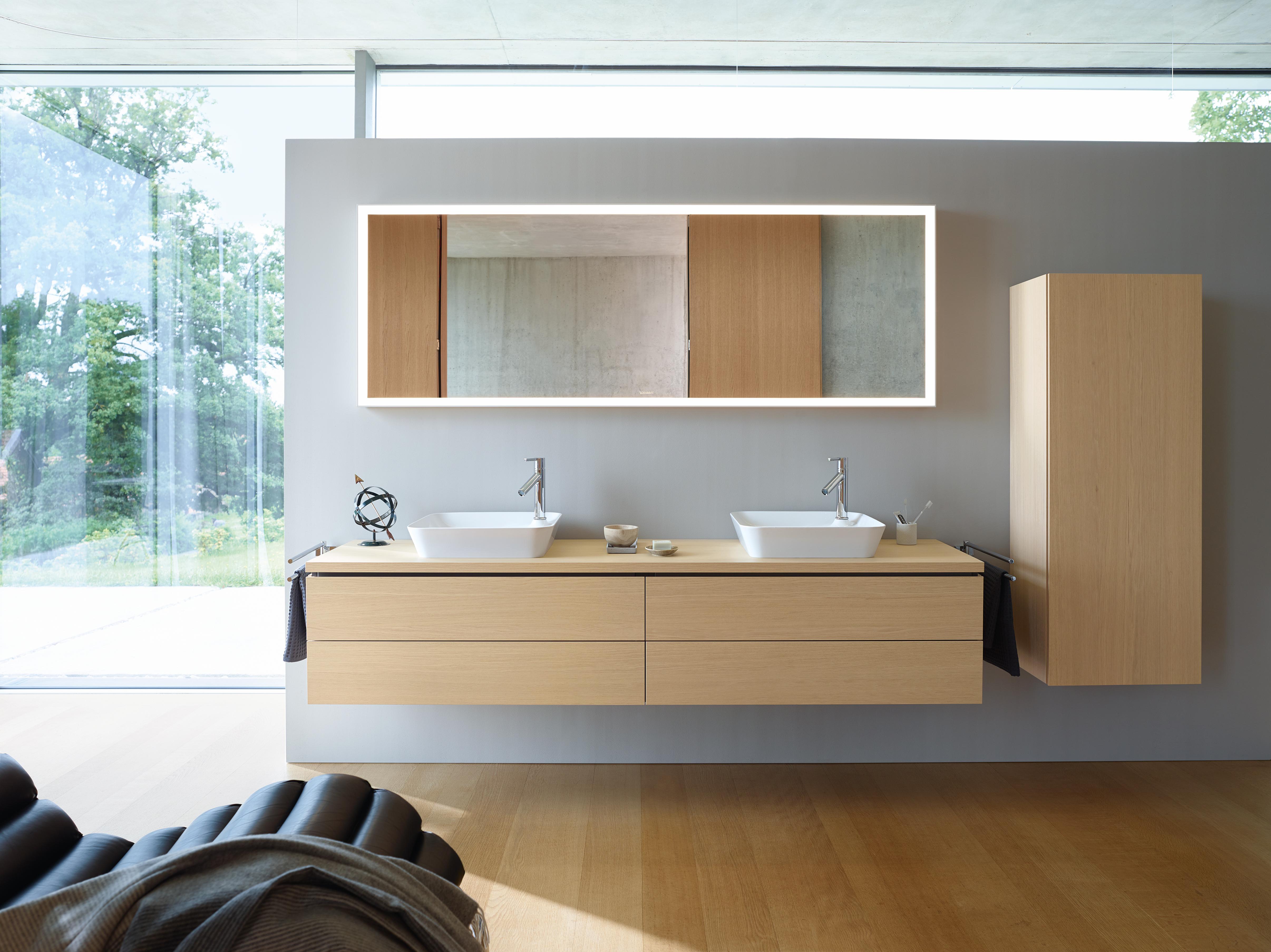 Hoogte Kolomkast Badkamer : Badkamer meubels van duravit duravit